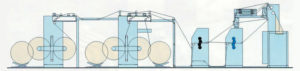 рулонная офсетная печатная машина Книга-70-221