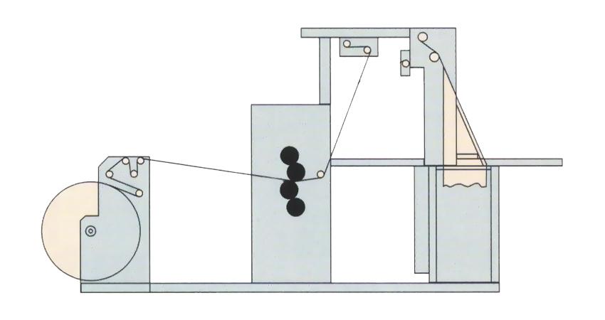 рулонная офсетная печатная машина Книга-84-111