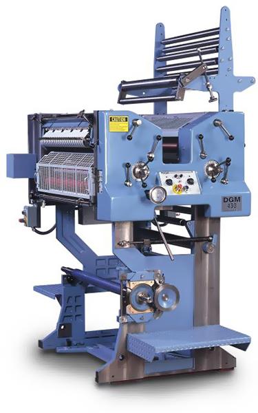 печатная mono-секция DGM 430 со встроенной рулонной зарядкой