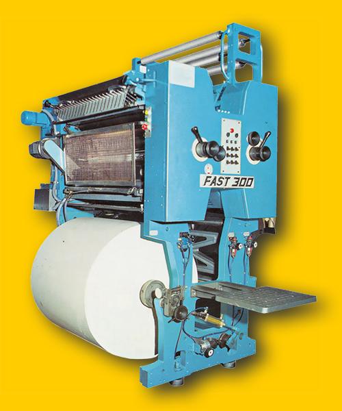 арочная печатная секция U-типа Fast 300 с рольной зарядкой