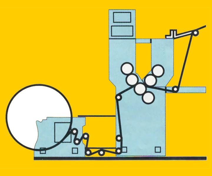 схема печатной секции типа Y (2+1)