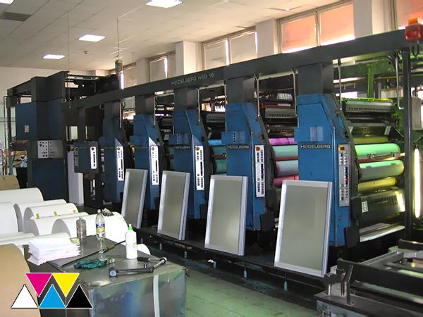 5 печатных секций резина к резине (1+1) Heidelberg WEB-16