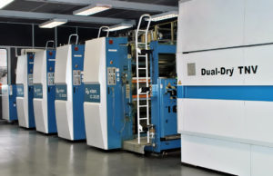 16-страничная рулонная машина для коммерческой печати KBA Compacta 215