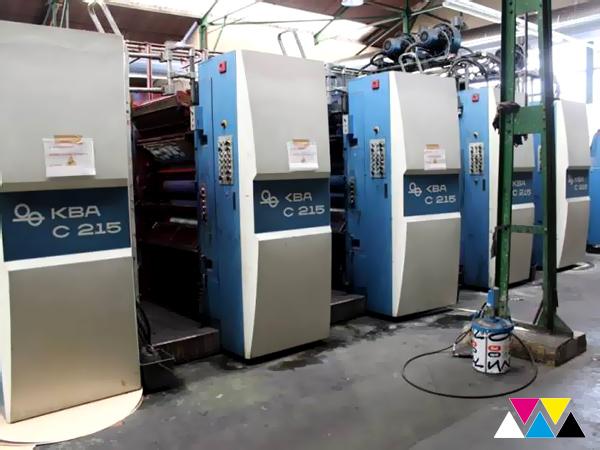 5 печатных секций (1+1) KBA Compacta C 215 (2007)