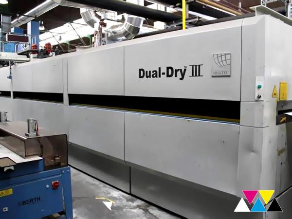 сушка MegTec Dual Dry III 108-1000 (KBA C 215)