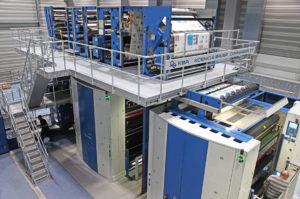 рулонная машина KBA Commander CT в типографии Der Neue Tag