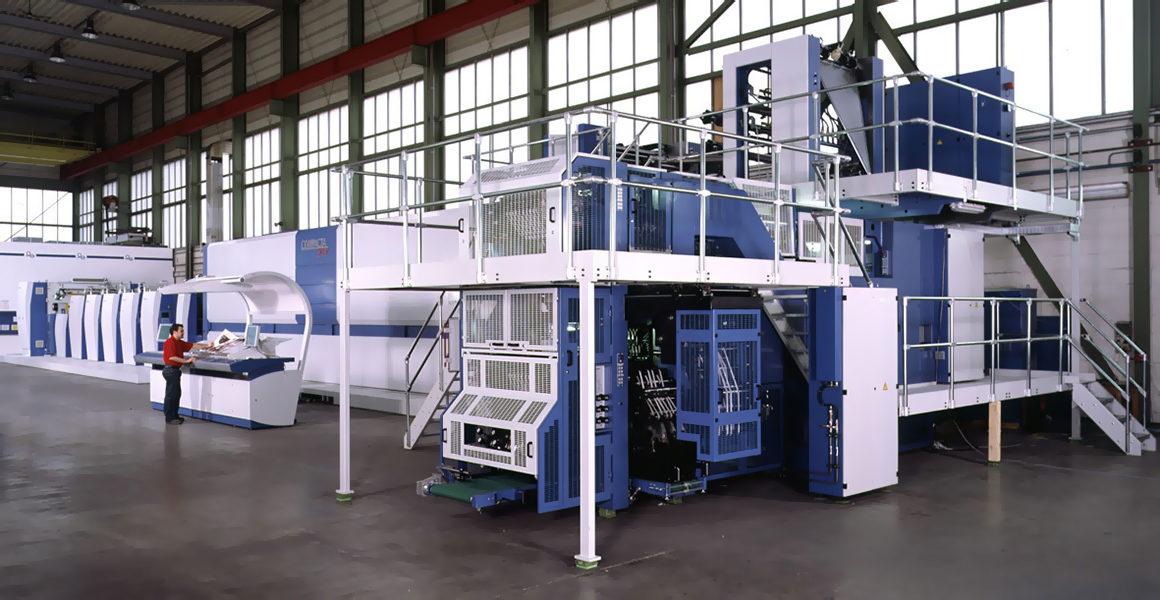 KBA Compacta 217 в типографии Kunst und Werbedruck GmbH & Co. KG (Германия)