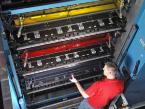 красочные аппараты KBA Cortina