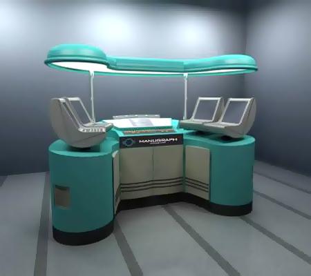 система управления Manucolor машины Manugraph Frontline
