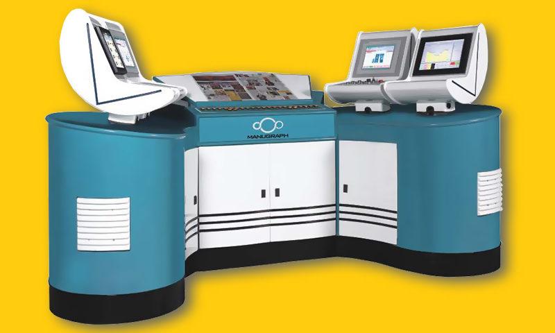 система управления краскоподачей Manugraph Manucolor