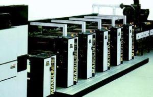 рулонная heat-set машина Multigraph Manuline-16