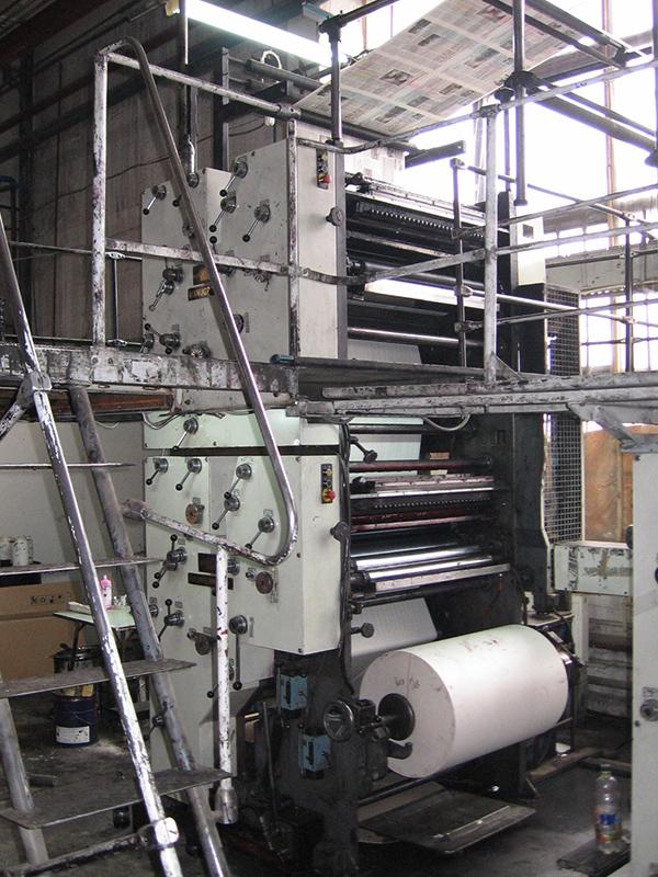 печатная башня (4+2) Manugraph Newsline 20