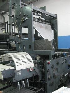 фальцаппарат Manugraph NewsLine 30 (старого образца)