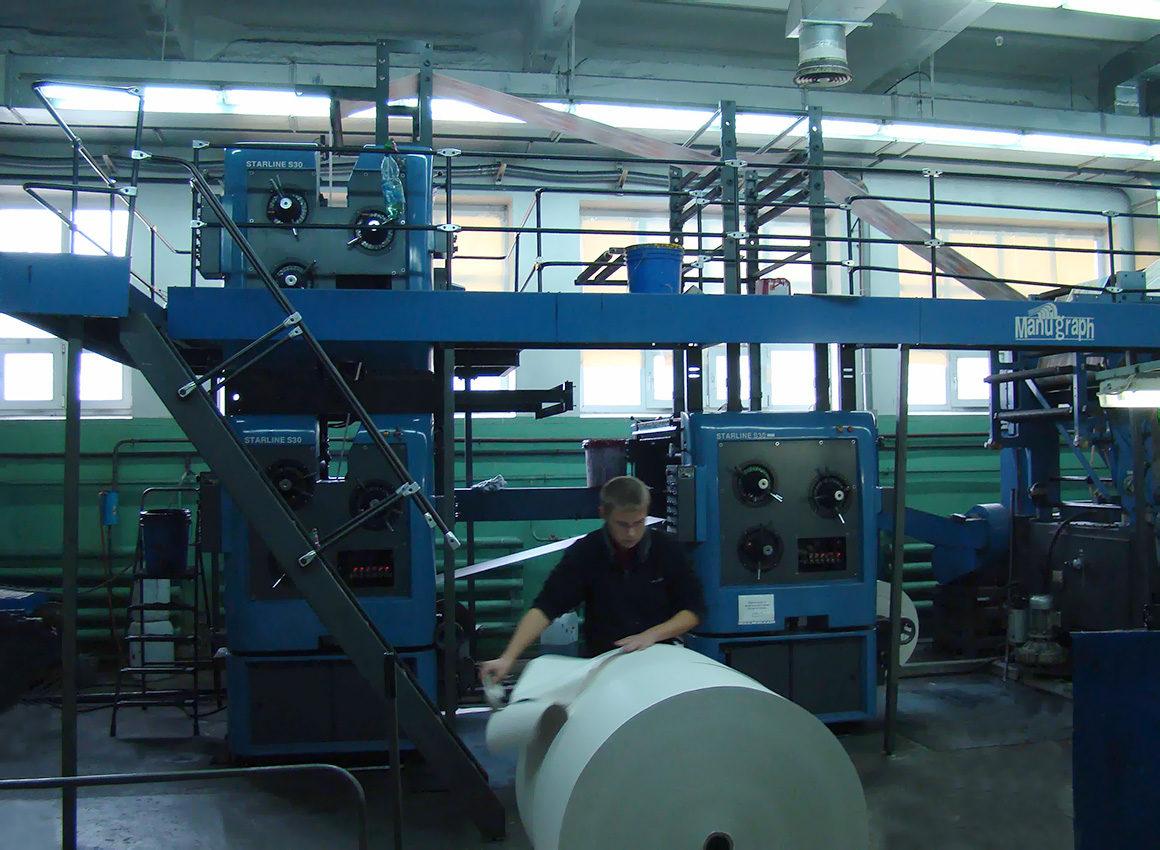 печатные секции Manugraph Starline S30