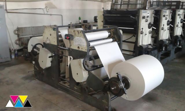 ролевая машина Manugraph Mark 62 (India)