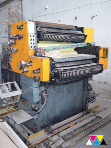 печатная секция Solna D25, I-типа (1+1), рубка 560 мм (№365 730), фото 2