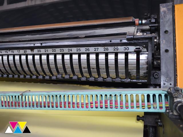 печатная секция Solna D25, I-типа (1+1), рубка 560 мм (№365 730), фото 7