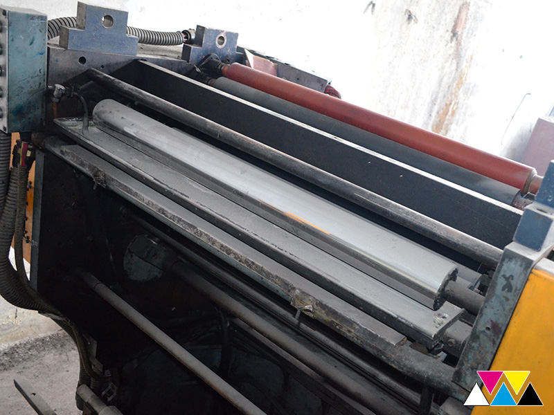 печатная секция Solna D25, I-типа (1+1), рубка 560 мм (№365 731), фото 4
