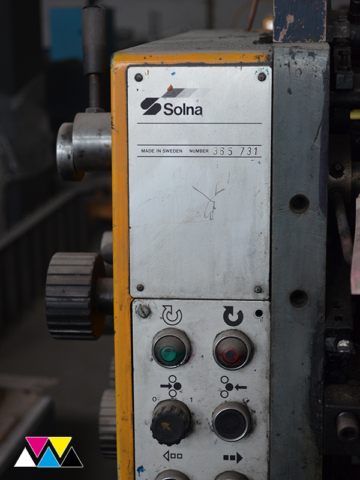 печатная секция Solna D25, I-типа (1+1), рубка 560 мм (№365 731), фото 8