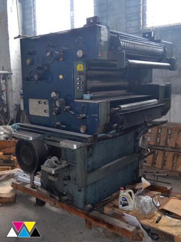 печатная секция Solna D30, Y-типа (2+1), рубка 560 мм (№215 648), фото 1