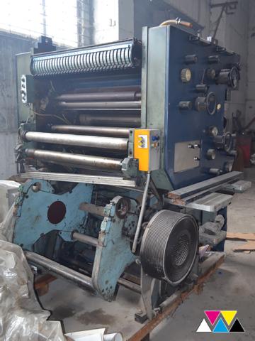 печатная секция Solna D30A, Y-типа (2+1), рубка 560 мм (№215 648), фото 2