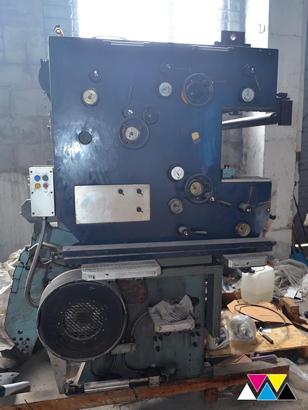 печатная секция Solna D30A, Y-типа (2+1), рубка 560 мм (№215 648), фото 3
