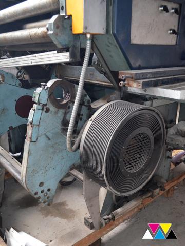 интегрированная рулонная зарядка в Y-печатную секцию Solna D30, рубка 560 мм