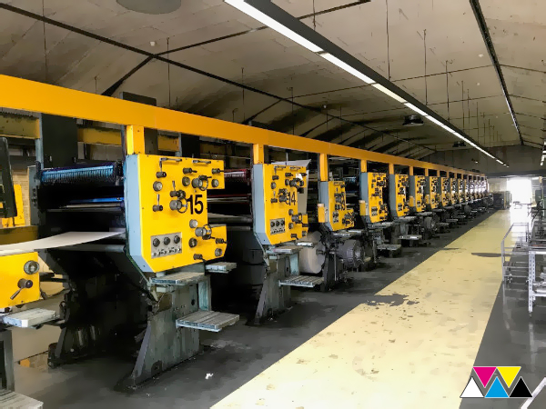 Solna वितरक D30-B प्रिंटिंग मशीन (1990)
