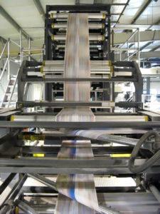 конфигурация поворотных штанг на машине Goss Sunday 2000/24