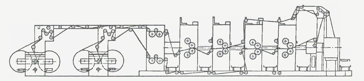 схема построения машины Ultraset 72 (RO-72)