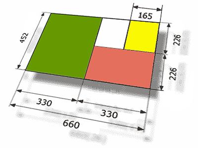 форматы тетрадей после фальцовки Zirkon 66