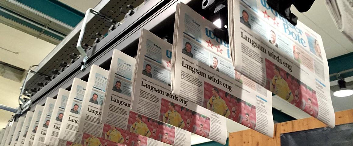 газеты размера tabloid в печати