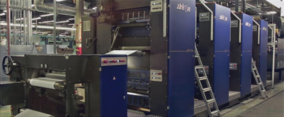 рулонная heat-set машина zirkon Gold Line 6722