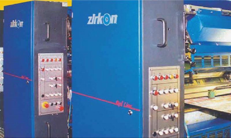 ролевая офсетная книжно-журнальная печатная машина Zirkon Red Line 6612