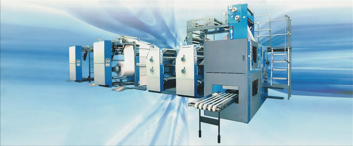 рулонные офсетные печатные машины ряда Книга-70