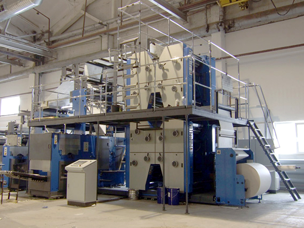 H-секции в рулонной машине ПОГ2-84 (Волга 84)