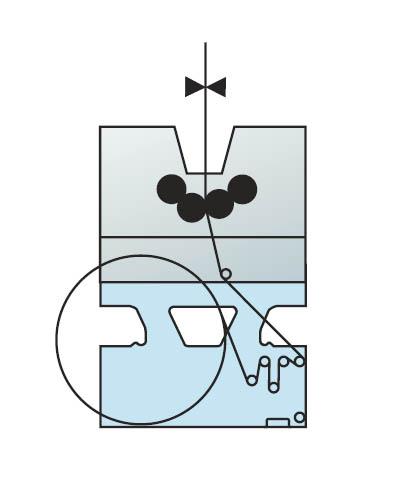 рулонная зарядка встроенная в моно печатную секцию (1+1)