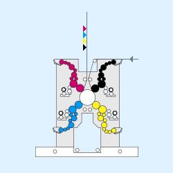 схема cателлитной 4SC печатной секции