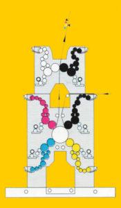 схема модуля 4CS с секцией 1/2D