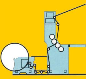 схема печатной секции типа I (1+1)