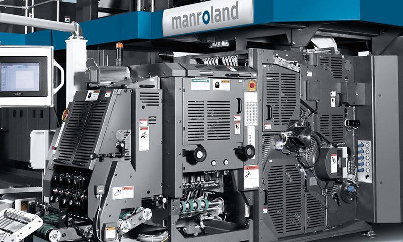 фальцаппарат ролевой офсетной печатной машины manroland Euroman