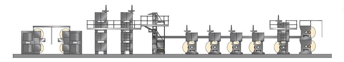 рулонная офсетная машина Goss Community для газетной печати (Cold-Set)