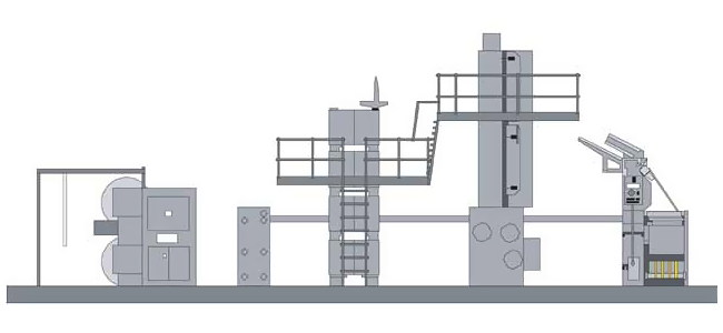 Goss Magnum 4с вертикальным сушильным устройством в типографии Agderposten Trykk (Норвегия)