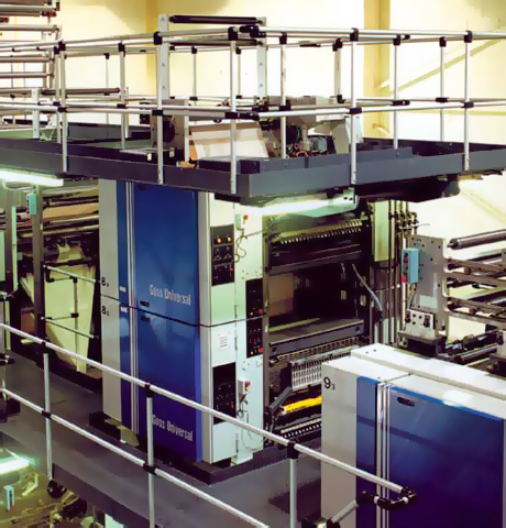 печатные секции Goss Universal 45