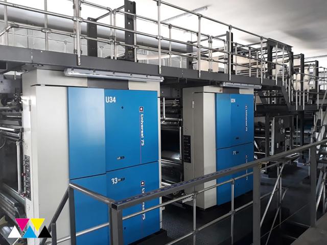 рулонная газетная машина Goss Universal 75 (560 мм), 2007 год