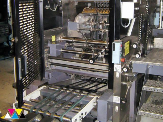 клапанно-графеечный фальцаппарат J233 (макс. 12 полотен)