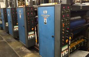 рулонная heat-set машина Heidelberg Harris V-30