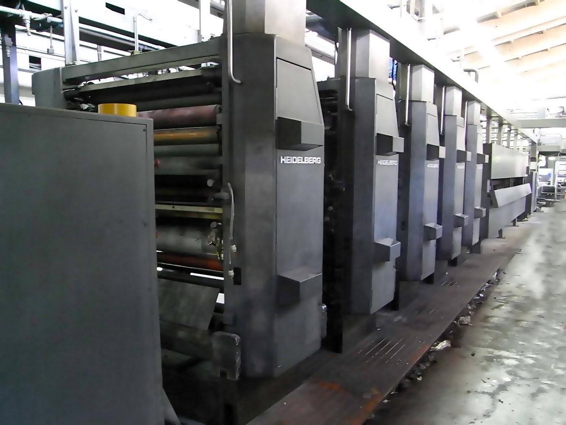 рулонная машина для коммерческой печати Heidelberg WEB-16