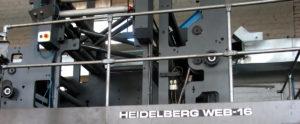 рулонная машина для журнальной печати Heidelberg WEB-16