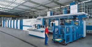 16-страничная heat-set машина для коммерческой печати KBA C16